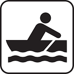 rowboat, skiff, rowing