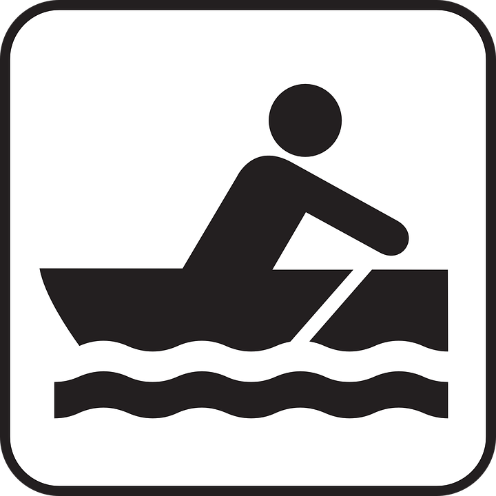 Rowboat Skiff Rowing Boat Water Sports