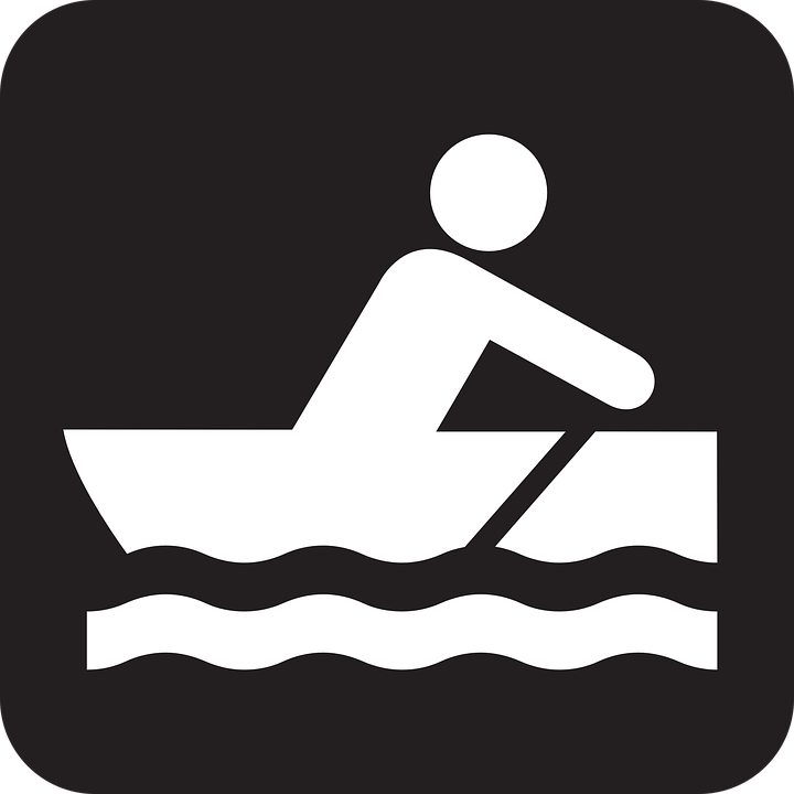 free clip art rowboat - photo #25