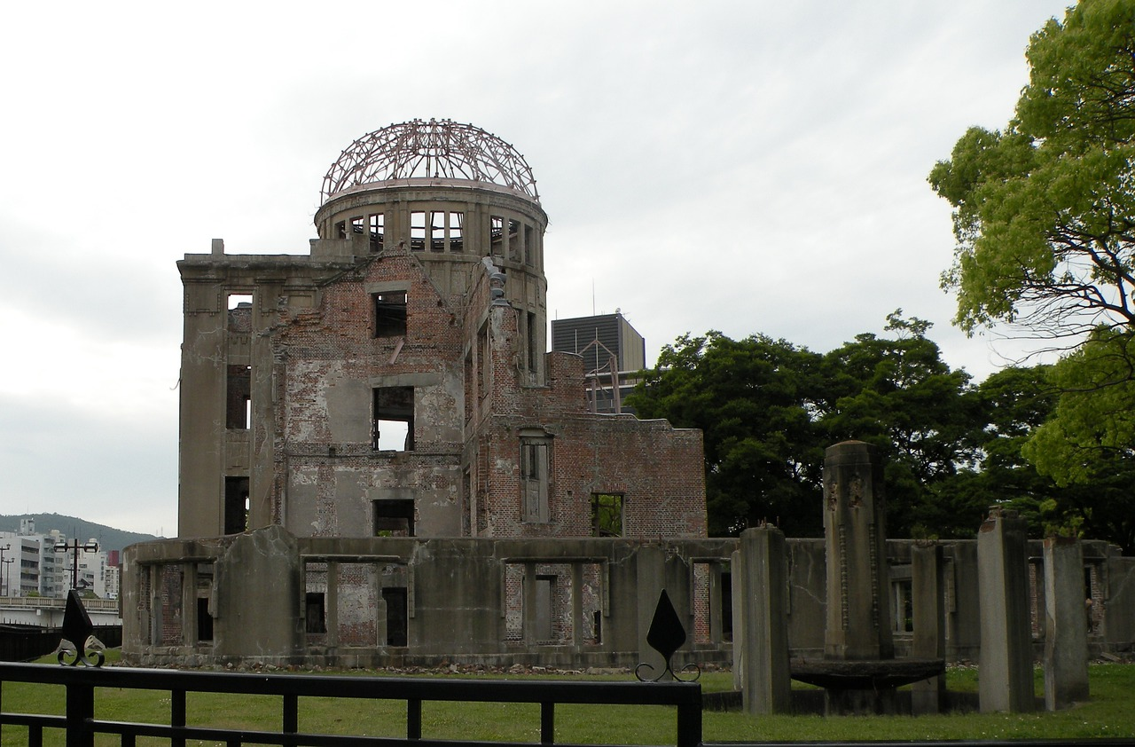 On August sixth, 1945, during World War Two, the United States dropped an atomic bomb on Hiroshima, Japan, killing an estimated 140,000 people in the first use of a nuclear weapon in warfare.