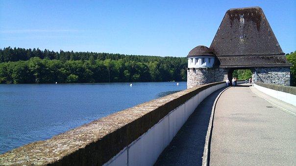 Möhnesee, Sauerland, Deutschland, Wasser