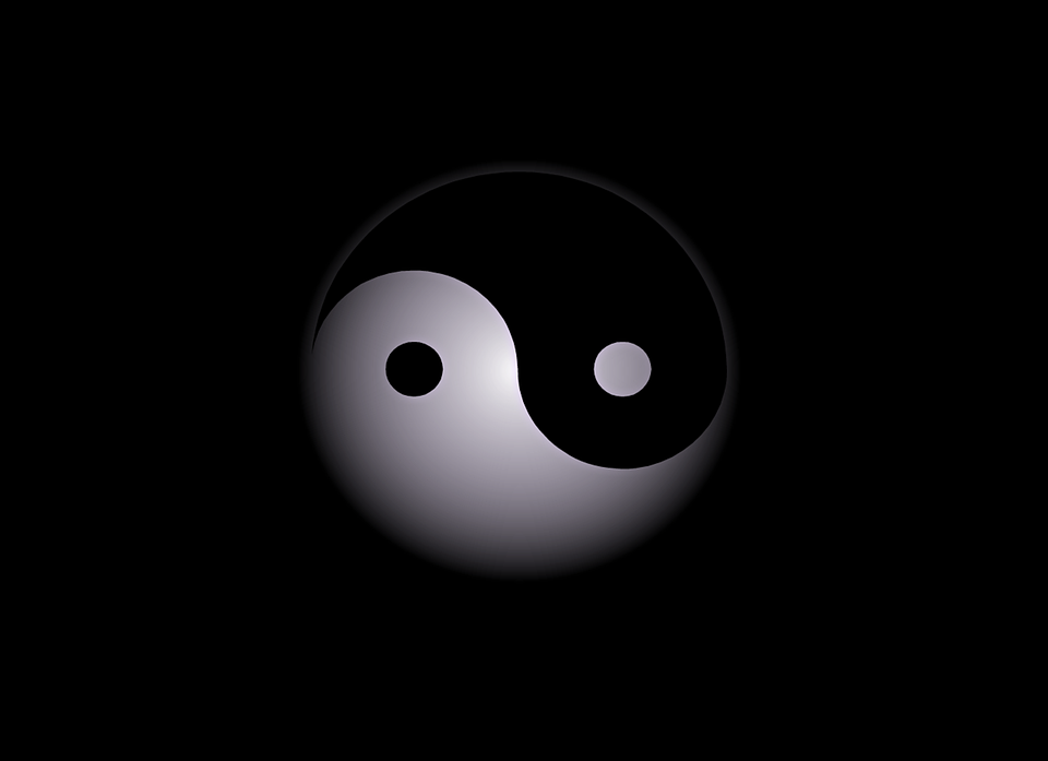 free illustration yin yang abstract background free