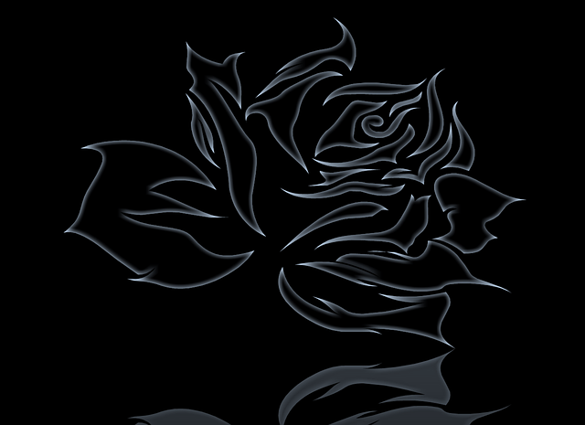 Abstract Rose Black · Free Image On Pixabay