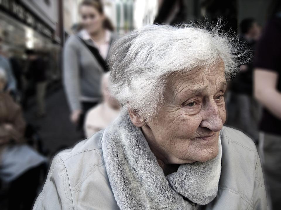 Woman, Senior, Portrait, Old, Aged, Elderly, Grandma