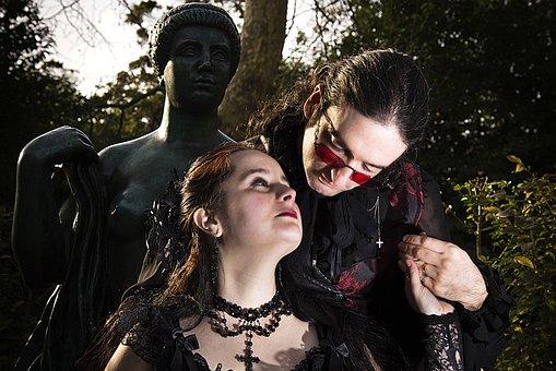 Gotisk, Casal, Statuen, Poesi, Positur