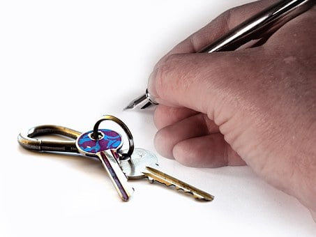 Hand, Key, House Keys, Keys, Pen Filler