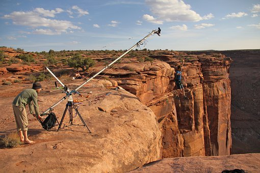 Moab,  Utah,  Berge,  Film Crew,  Männer