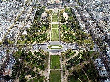 Garden, Champ De Mars, Tourism