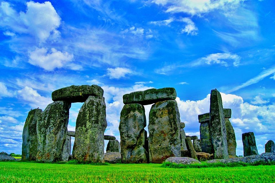Stonehenge, Stenen, Rotsen, Rotsformaties, Landmark