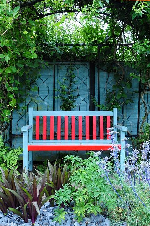 Jardín Banco Terraza Foto Gratis En Pixabay