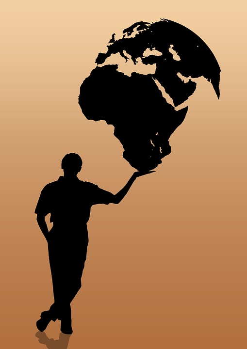 Global, Globalización, Globo, Las Manos, El Comercio