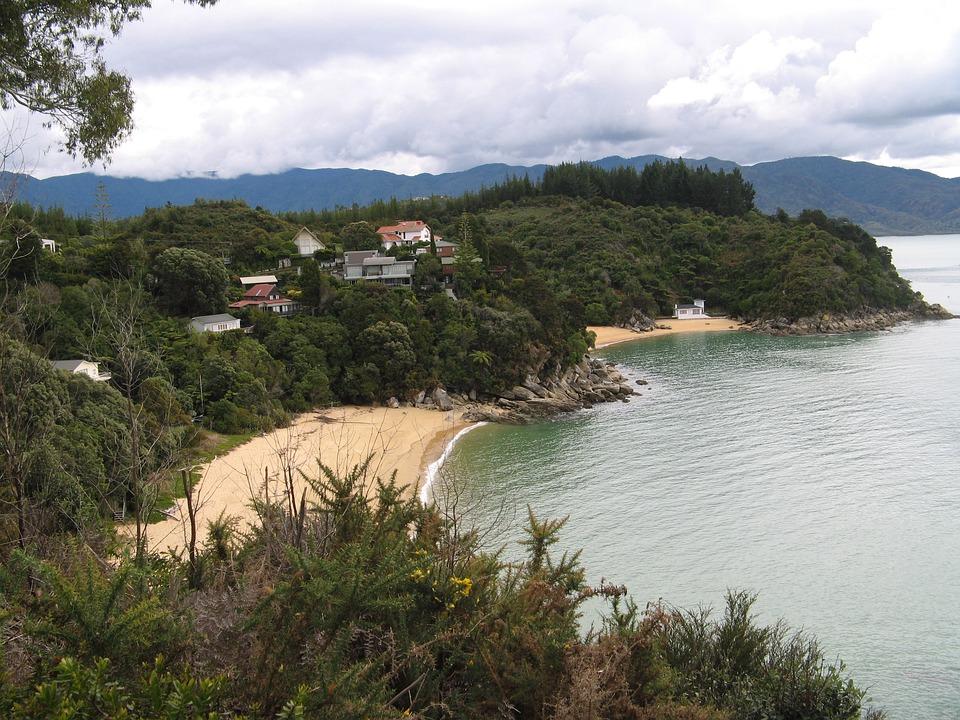 Shore, Coast, Beaches, Bay, New Zealand, South Island