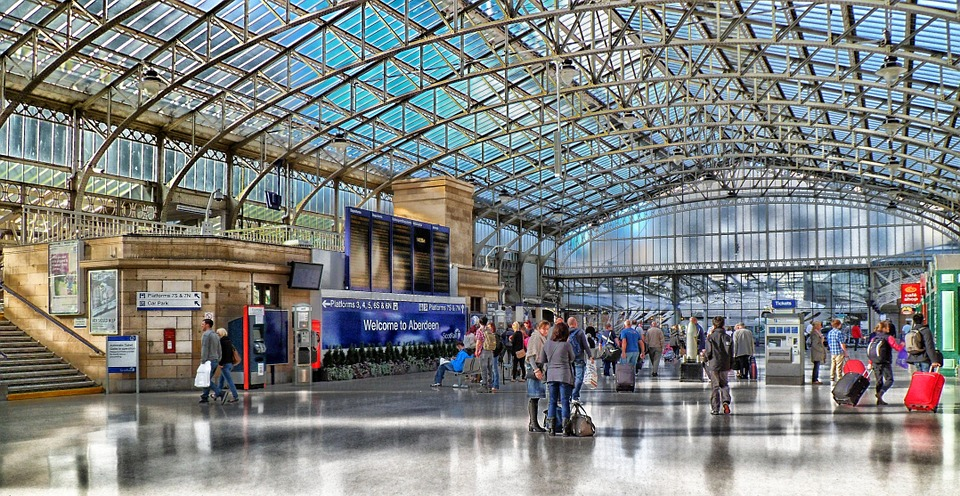 Free Photo Aberdeen Scotland Train Station Free Image