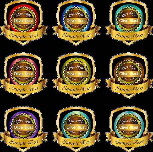winner badge accolade  u00b7 free vector graphic on pixabay