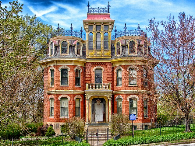 Free Photo Davenport Iowa House Mansion Free Image
