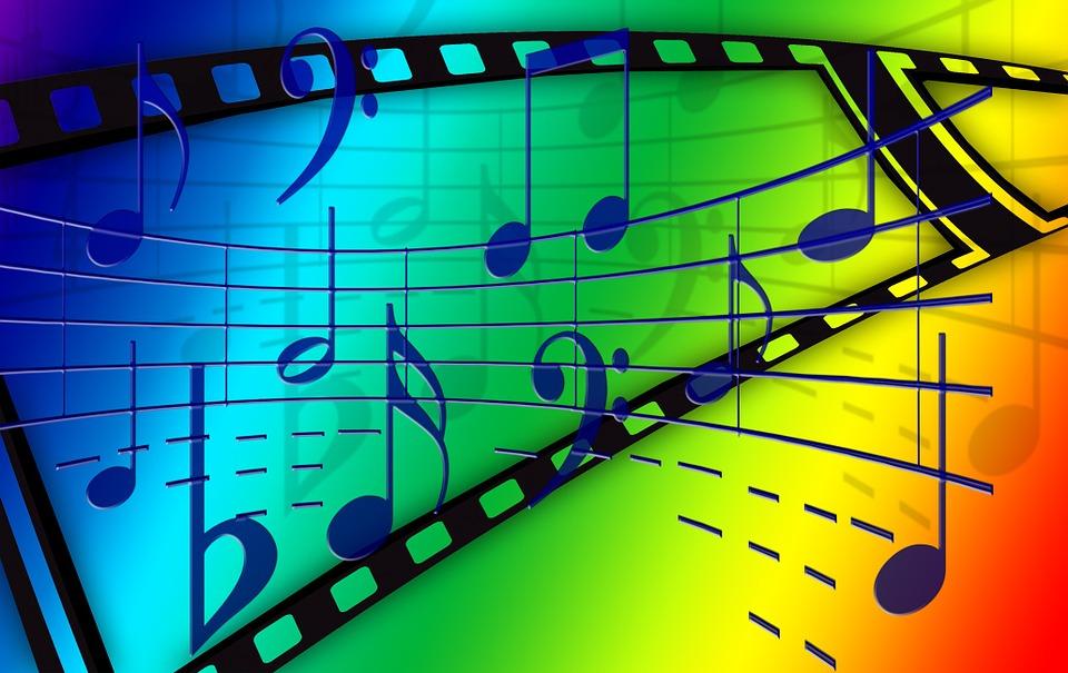 Music treble clef sound free image on pixabay - Immagini violino a colori ...