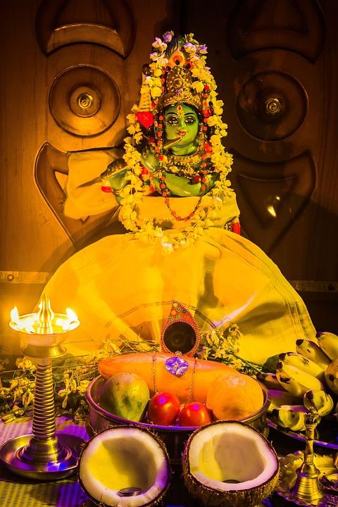 Kerala India Vishu Vishukkani New Year