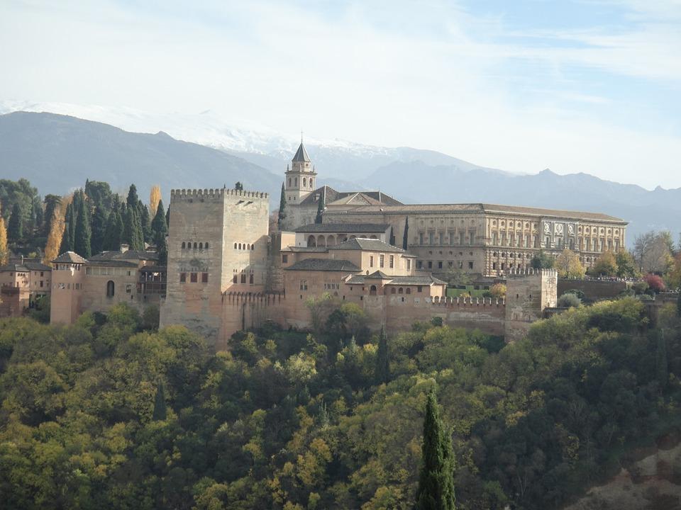 Alahambra, Granada, España