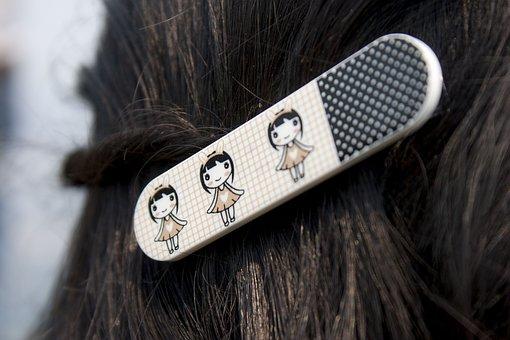 髪, ヘアー クリップ, クリップ, 女性, 女の子, ヘアスタイル, スタイル