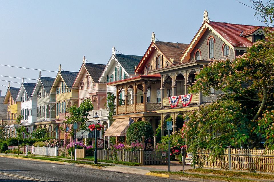 Free photo: Cape May, New Jersey, Houses - Free Image on ...