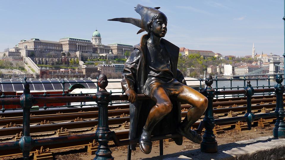 Statue, Street Statue, Budapest