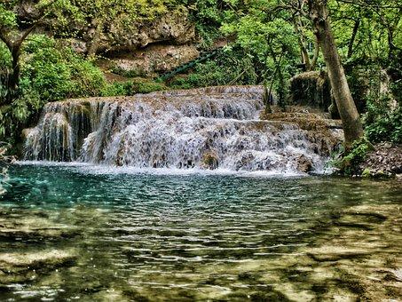 Bulgaria, Krushuna Waterfall, Cascade