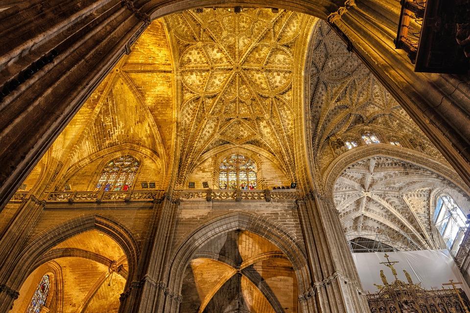 Sevilla espa a catedral foto gratis en pixabay - Catedral de sevilla interior ...