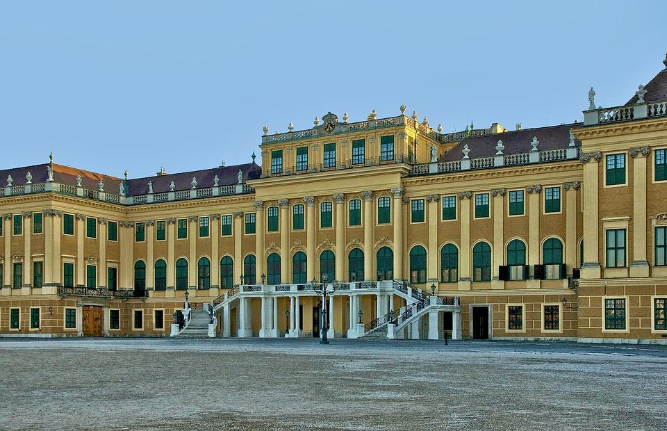 Vienna, Austria, Schonbrunn Castle, Palace, Building