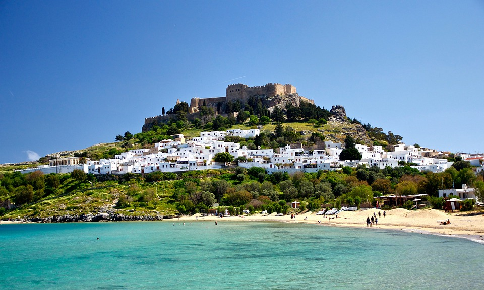 Free Photo Lindos Greece Buildings Castle Free Image