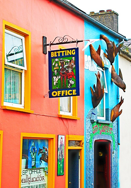 Ирландски, Селтик, Магазин За Залагания, Сграда