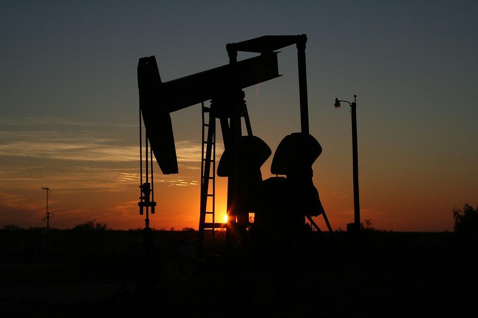 oil monahans texas sunset west texas sillhouette