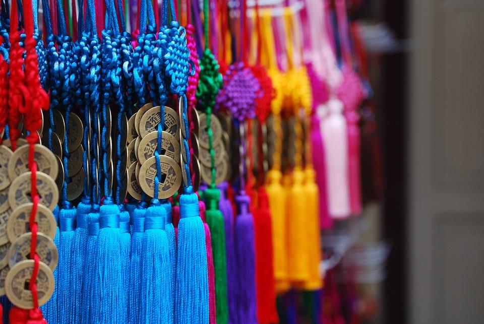 Chinatown, Tahun Baru Cina, Dekorasi
