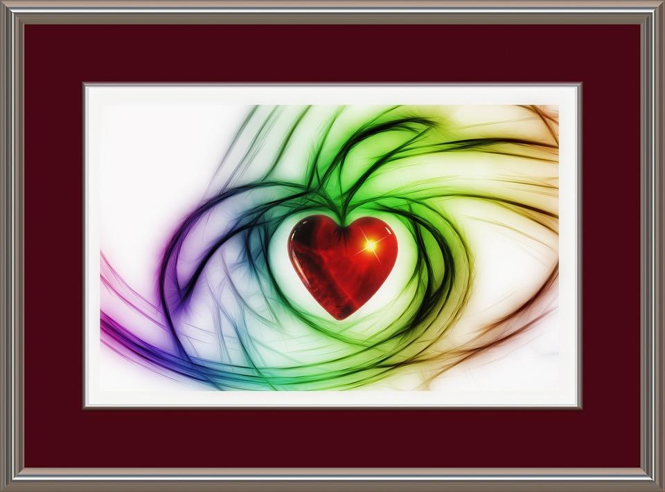 Herz Liebe Rahmen · Kostenloses Bild auf Pixabay