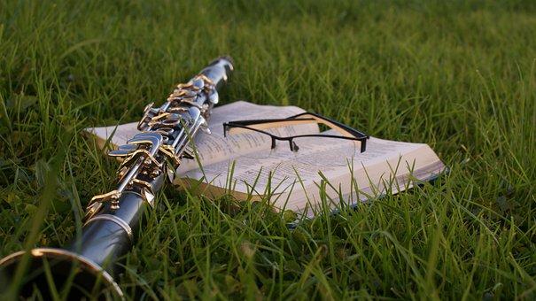 Bible, Music, Clarinet, Clarinet