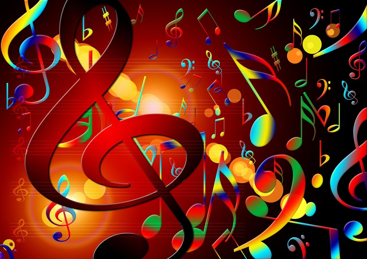 Музыкальная танцевальная открытка