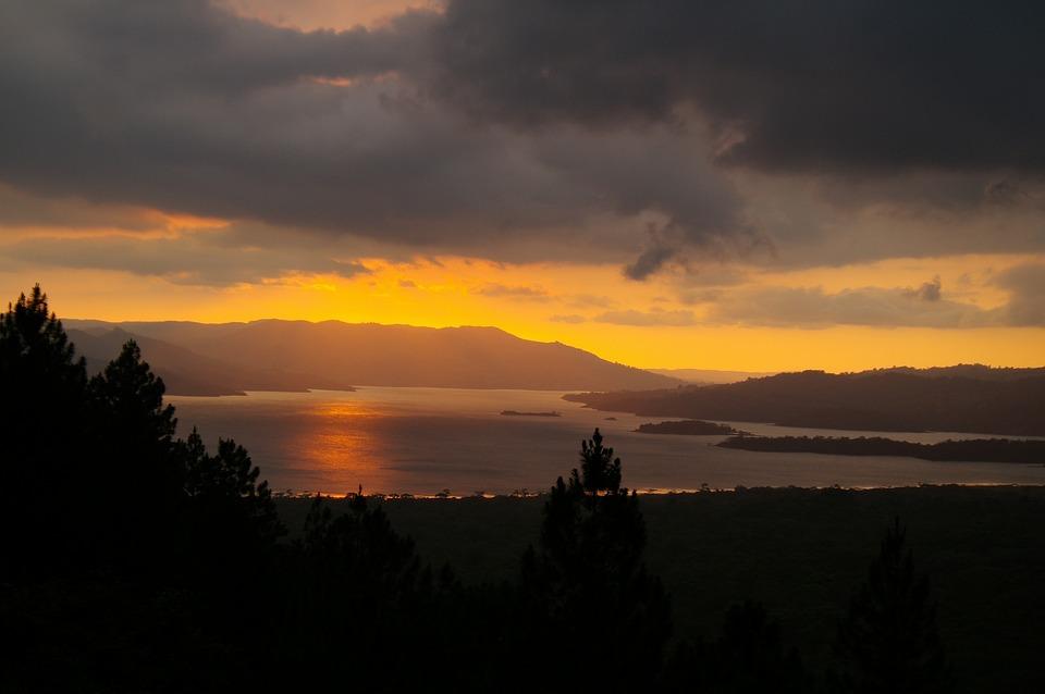 Costa Rica, Sunset, Nature, Crépuscule, Paysage