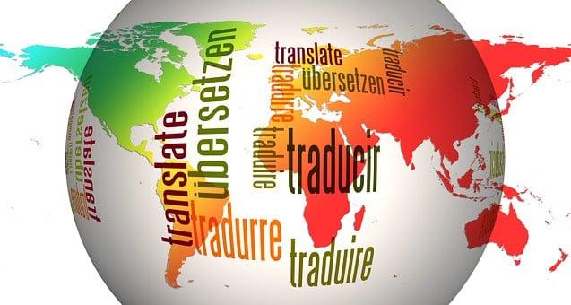Globo, Mundo, Idiomas, Traducir