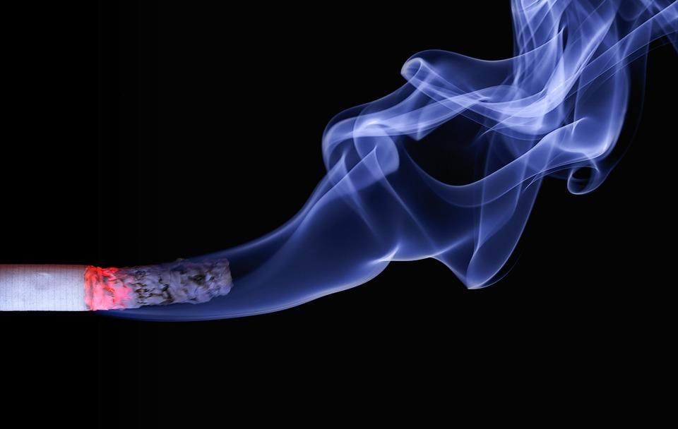 Cigarette, Smoke, Burning Cigarette, Smoking, Ash