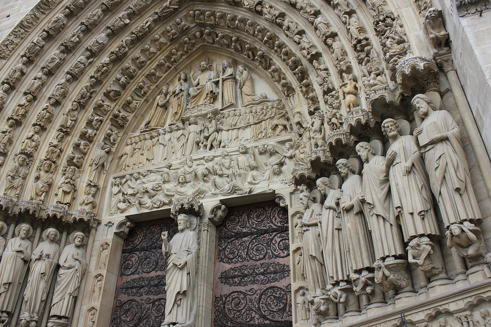 Notre, Dame, Notre Dame, Paris, Cathedral, France