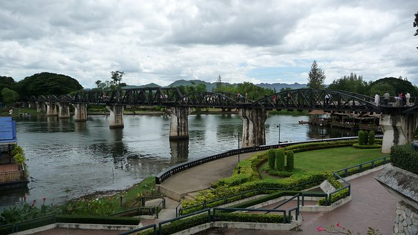 Bridge, River, Kwai, Landmark, Tourist