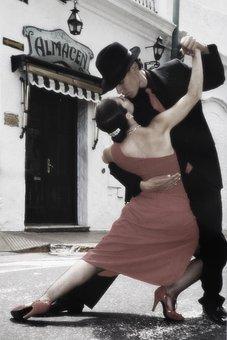Tango, Dancing, Couple, Dreamy Style