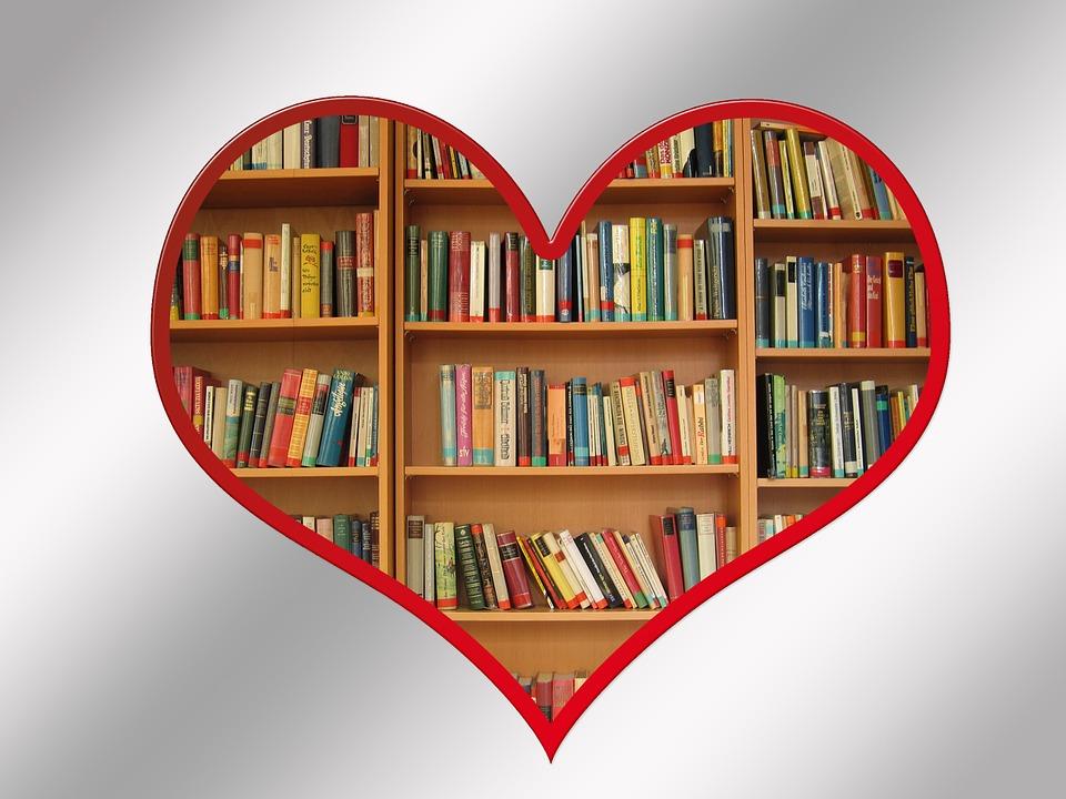libro libros estantera lectura literatura corazn