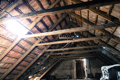 Attic, Pise, Old Attic, Tile, Light