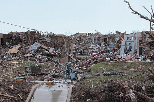 Moore Oklahoma Tornado Disaster Ruin Natur