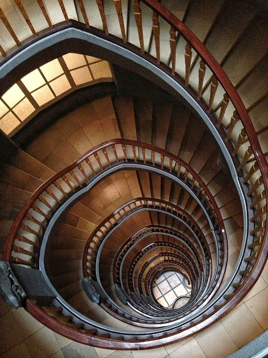 Stairs Building Architecture Rise Kontor