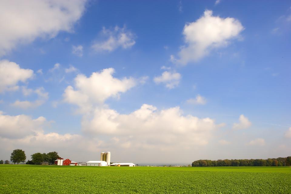 Free Photo Ohio Farm Rural Sky Clouds Free Image On