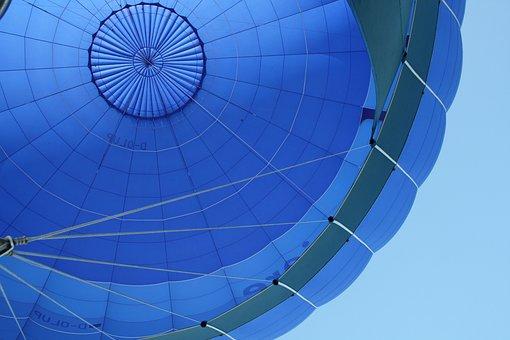 Balão, Céu, Balões De Ar Quente, Vento