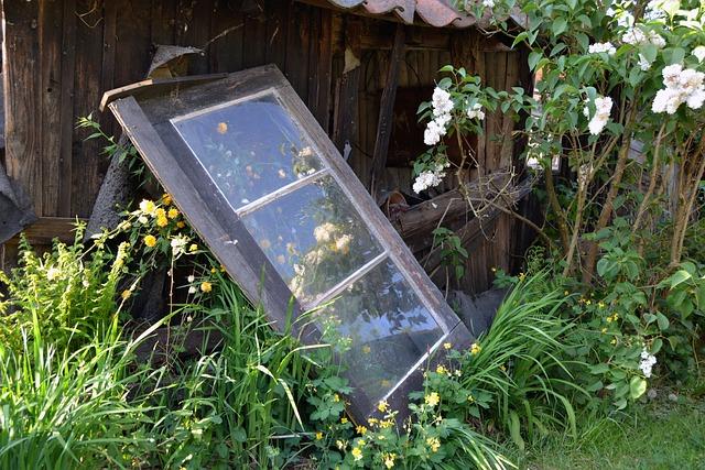 Alt alte fenster atmosph re kostenloses foto auf pixabay - Decorer un jardin ...