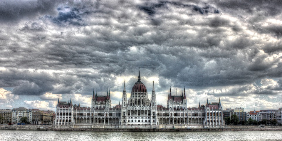 Budapest, Hungary, Parliament, Architecture, Skyline