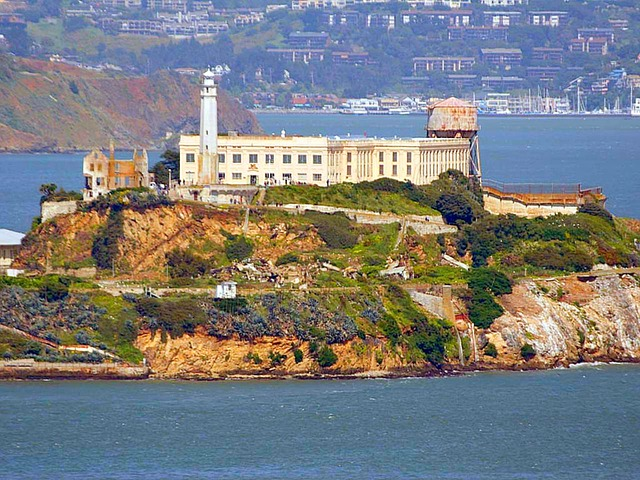free photo alcatraz  prison  island  sea  usa free construction vector icons construction vector buildings